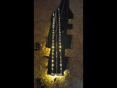 Nano String LED 3 volt 12 string, cool white