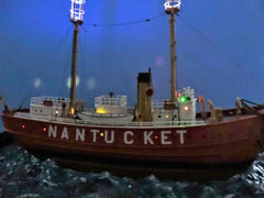 Nantucket Light Ship with Evan Design's LED lighting