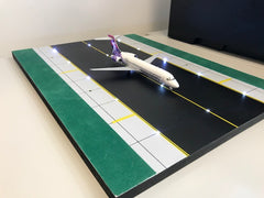 Runway with LEDs