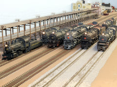 S Scale Locomotives