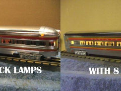 Aluminum Train Before and After