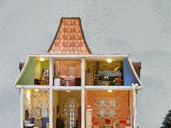 Beacon Hill style dollhouse