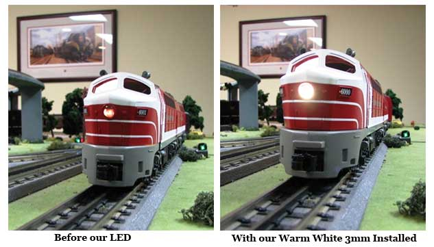 LEDs for Model Trains