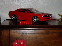 Car on the shelf