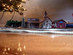 Christmas Scene Buildings