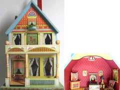 Colorful dollhouses