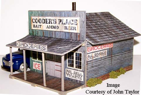 photo about Free Printable Ho Scale Buildings known as HO Fashion Teach Scale Coming up with - House Evan Layouts