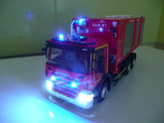 French fire fighter truck