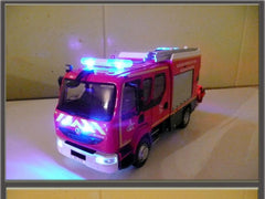 French fire fighting vehicle