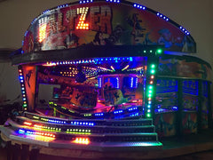 Fun fair in the city
