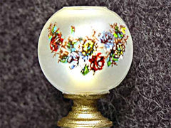 Gorgeous antique porcelain lamp