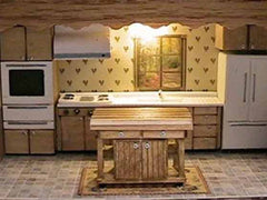 Heartwarming wooden kitchen