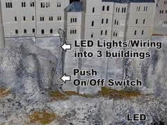 LED lights wiring