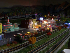 Main Street on the Fall layout