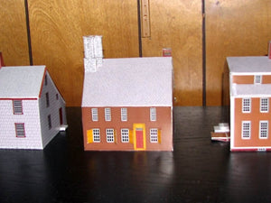historic houses. A great! collection all made with Model Builder