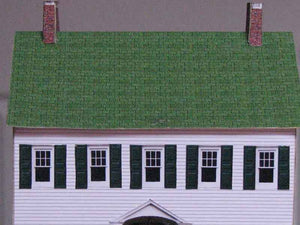 a historic house, built with Model Builder
