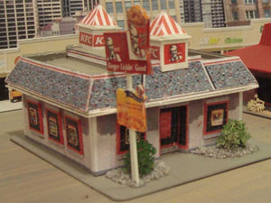 close-up of the KFC made with Model Builder