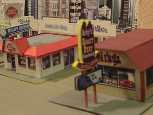 Arby's, DQ and Bell! Great building with Model Builder