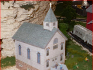 Country Church modeled after a church in Crooks, South Dakota .  The file share for this building is located at Model Builder file share