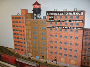 Building flats, a great O Scale collection!