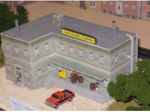 Sam's barell factory, other buildings in background are also from Model Builder