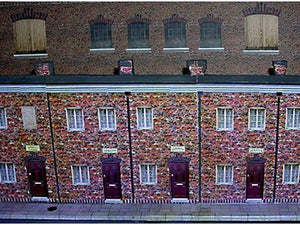 British row houses