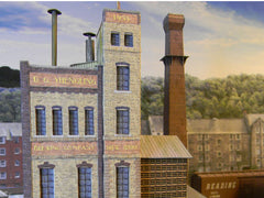 N Scale Brewery House