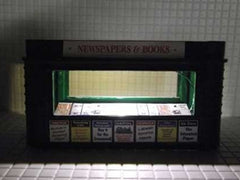Newspaper kiosks