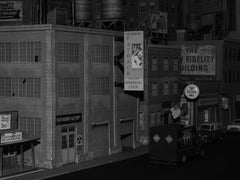 O scale downtown scene
