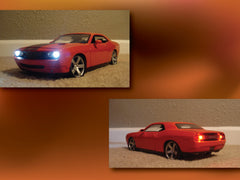 Orange Dodge Challenger Concept