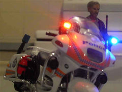 Police motorcycle model