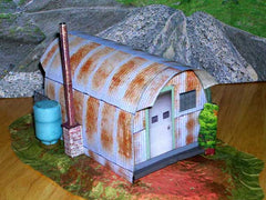 Rusted Quonset Hut
