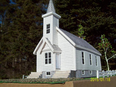 Seal Harbour Church HO Scale