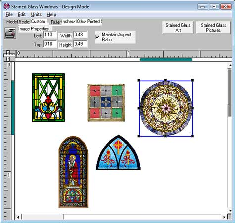 Miniatures And Model Trains Stained Glass Modeling Software Evan