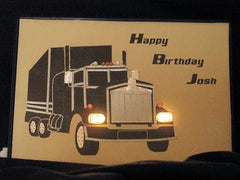 Truck for birthday