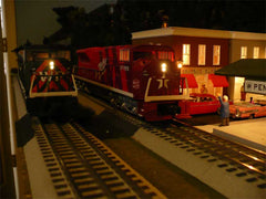 Williams Locomotives side by side