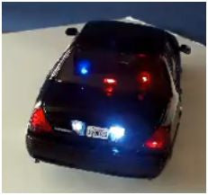 1:18 Undercover Crown Vic Lights