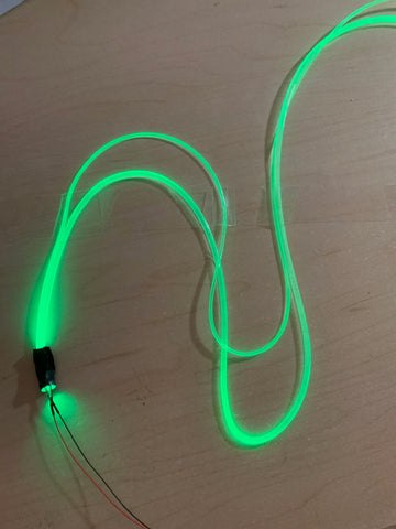 Side Glow Fiber Optics