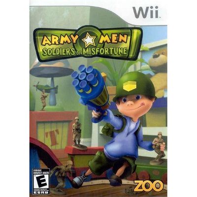 Wii - Army Men Soldiers of Misfortune