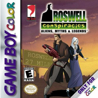 GBC - Roswell Conspiracies Aliens, Myths & Legends (Cartridge Only)