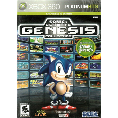X360 - Sonic Ultimate Genesis Collection (Platinum Hits)