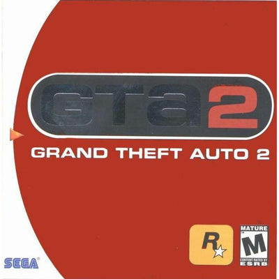 Dreamcast - Grand theft Auto 2 - PUGCanada
