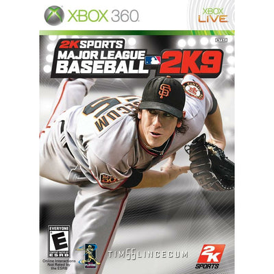 X360 - Major League Baseball 2K9