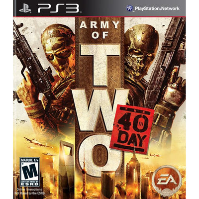 PS3 - Army of Two 40th Day - PUGCanada