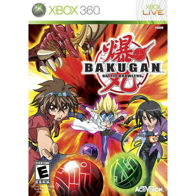 X360 - Bakugan Battle Brawlers