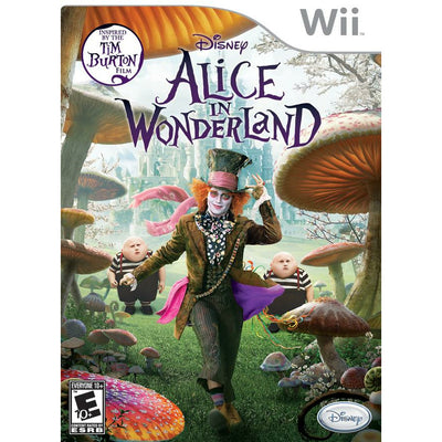 WII - Alice In Wonderland