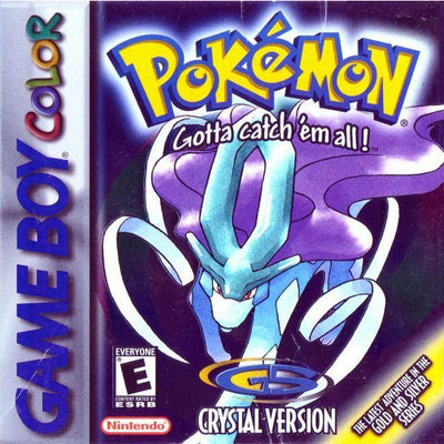 GBC - BOX - Pokemon Crystal