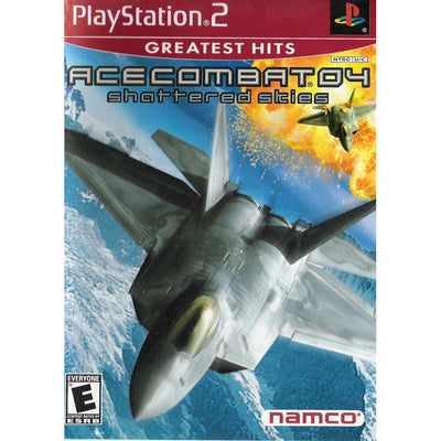 PS2   Ace Combat 04 Shattered Skies (Greatest Hits)   PUGCanada