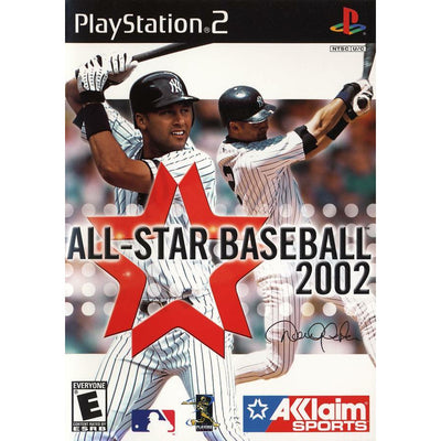 PS2 - All-Star Baseball 2002 (Printed Cover Art) - PUGCanada
