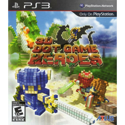 PS3 - 3D Dot Game Heroes - PUGCanada